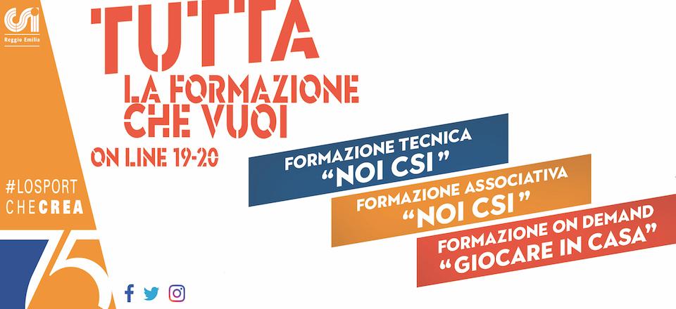 Calendario Csi Milano.Centro Sportivo Italiano Comitato Di Reggio Emilia